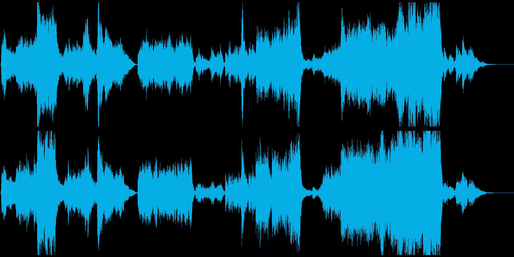 壮大なファンタジーOP風オーケストラの再生済みの波形
