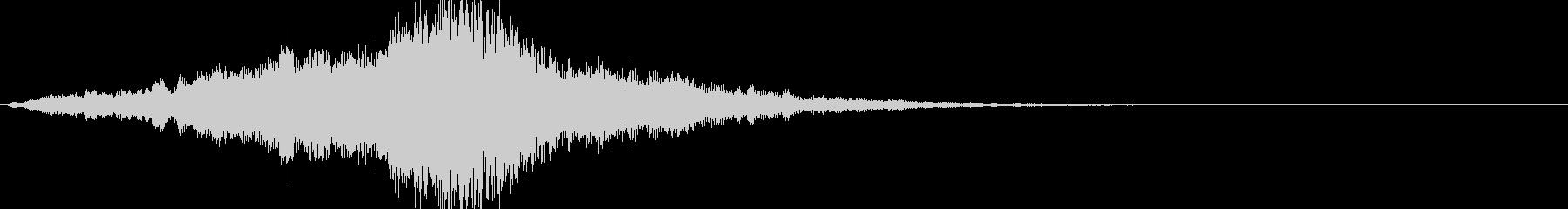 映画・映像用サウンドロゴ002の未再生の波形