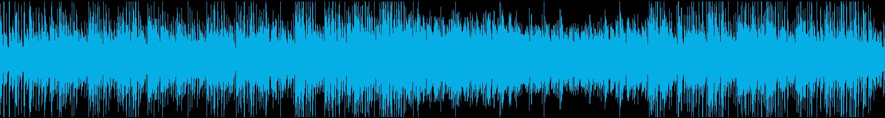 ループ 夏・海・日常 明るい木琴&ギターの再生済みの波形