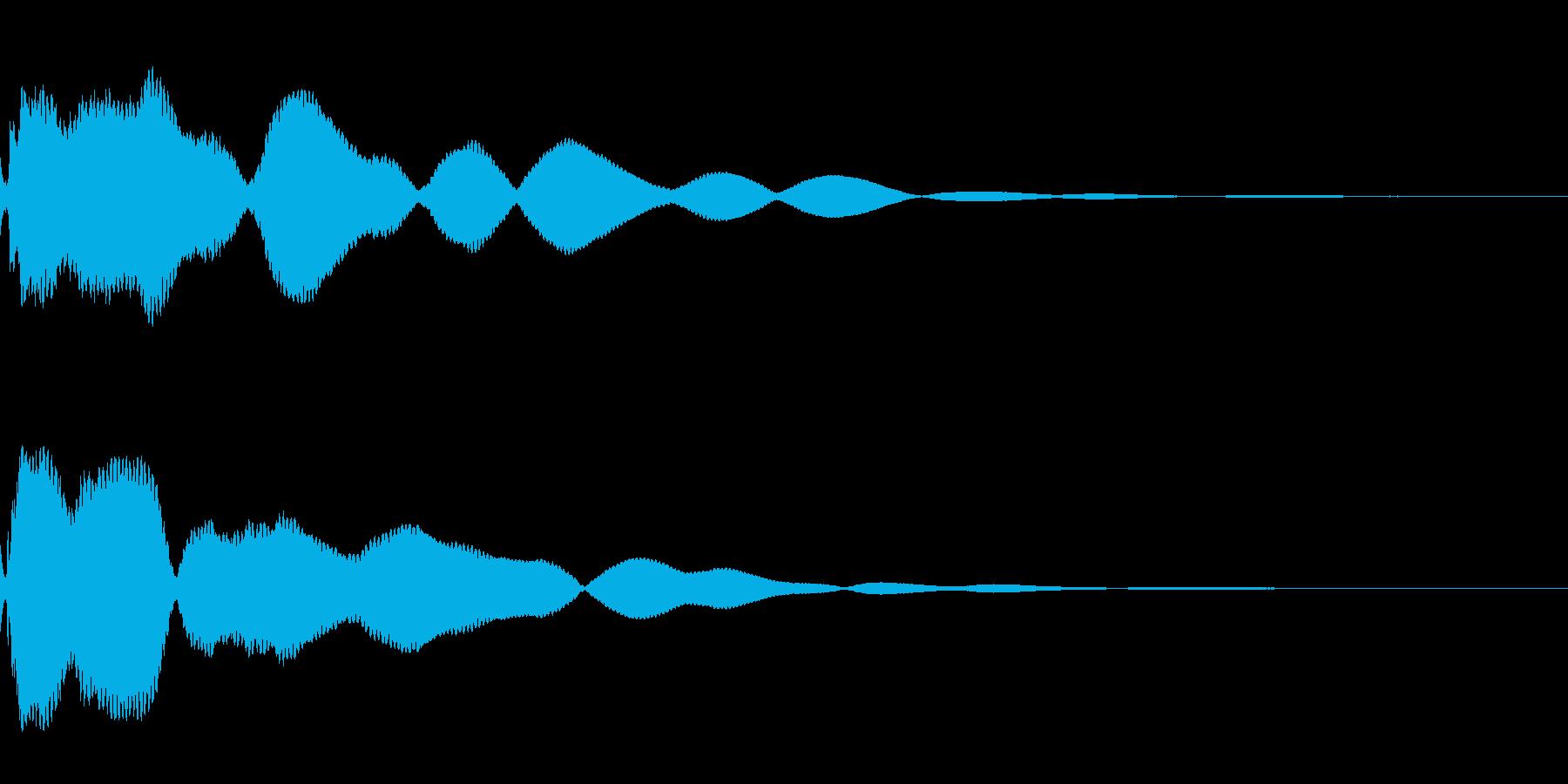 とーーーんの再生済みの波形