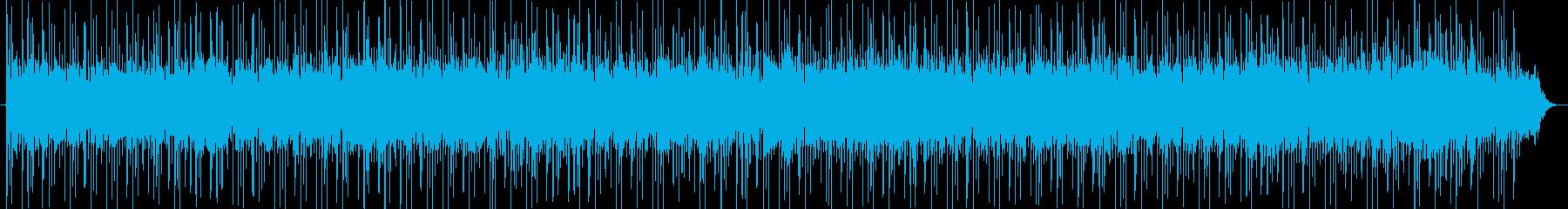 ゆったりしたかっこいいメロディーの再生済みの波形