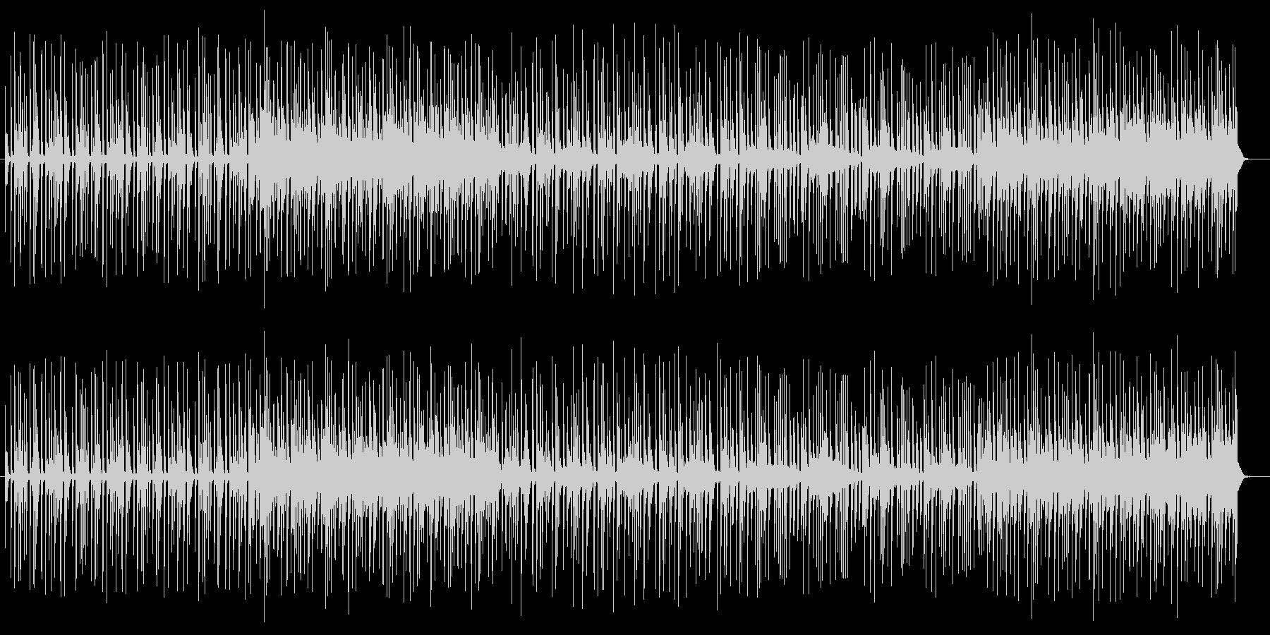 近未来的なエレクトロポップサウンドの未再生の波形