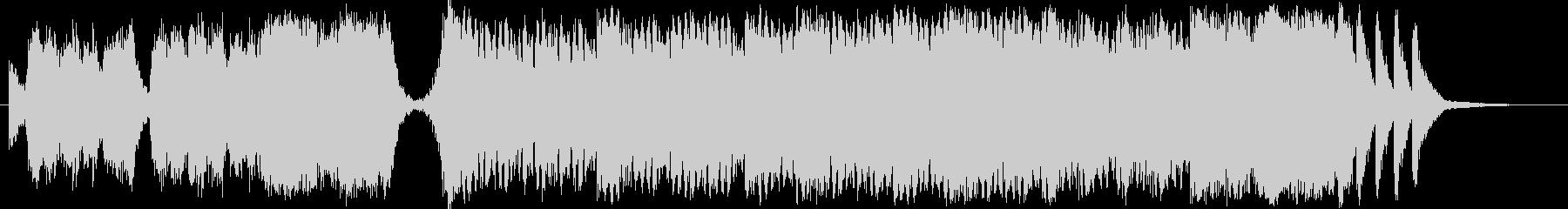 カルミナブラーナ風コーラス曲の未再生の波形