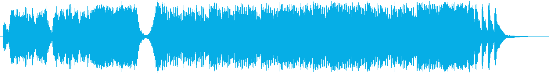 カルミナブラーナ風コーラス曲の再生済みの波形