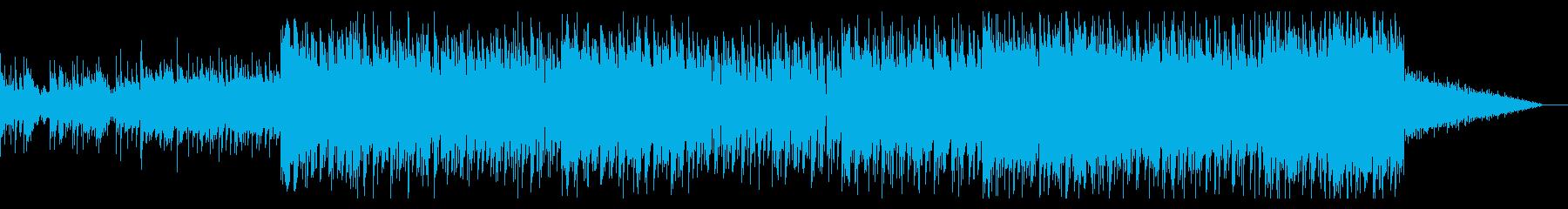 アラビアンなメロディーのアンビエントの再生済みの波形
