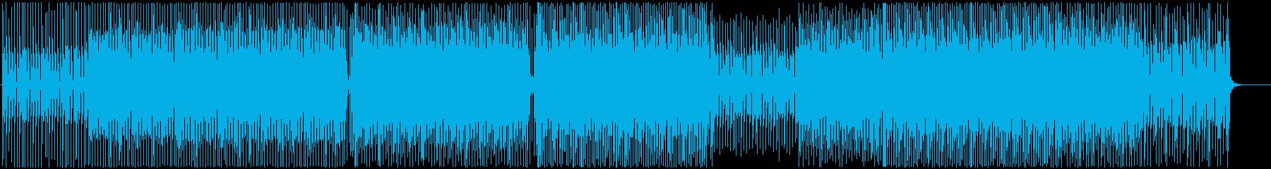 可愛い-モダン-軽快-ハウス-番組-動画の再生済みの波形