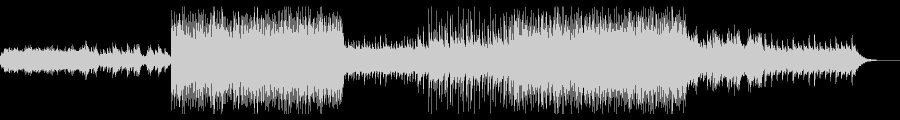 ピアノとシンセがメインの爽やかなポップの未再生の波形