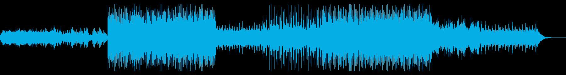 ピアノとシンセがメインの爽やかなポップの再生済みの波形