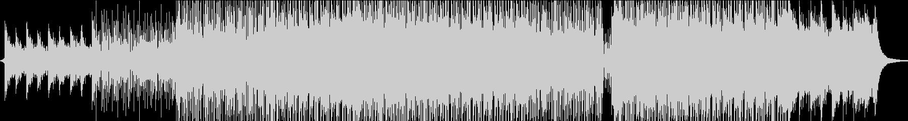 美しいシンセ、メロディックエレキギ...の未再生の波形
