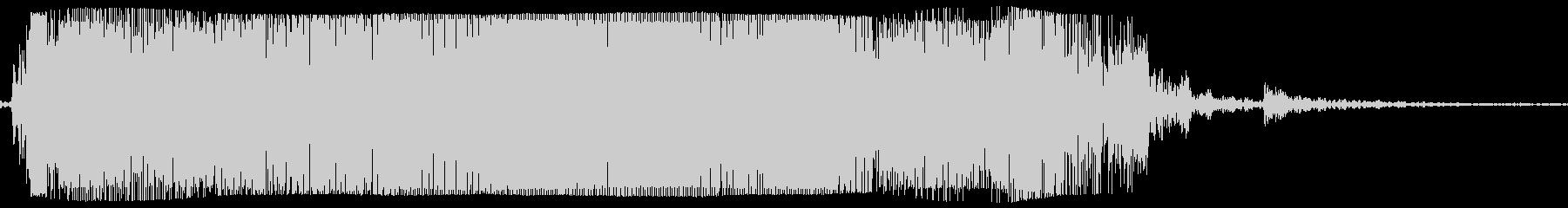 ギターメタルパワーコードzo wの未再生の波形