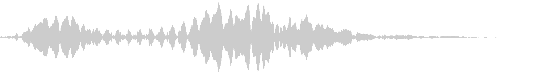 アナログFX 3の未再生の波形