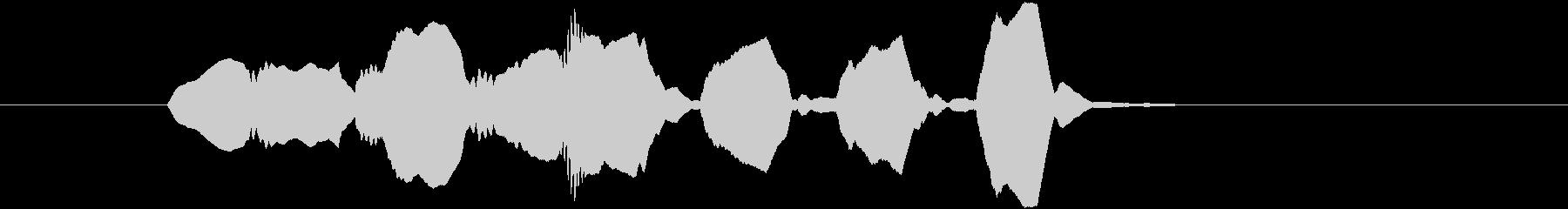 Youtubeオープニング風リコーダー2の未再生の波形