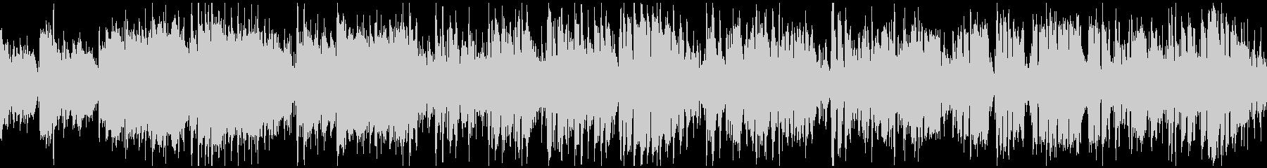 軽快に盛り上がるジャズサンバ ※ループ版の未再生の波形