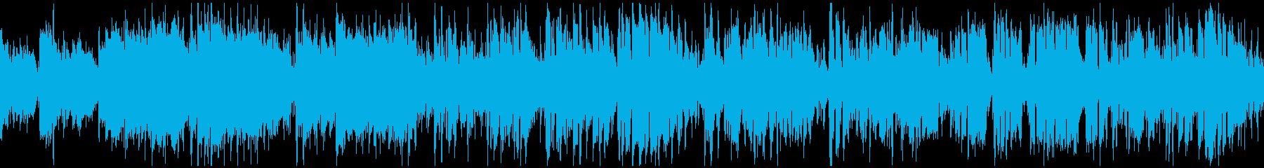 軽快に盛り上がるジャズサンバ ※ループ版の再生済みの波形