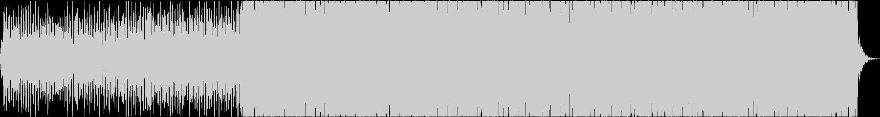 ピアノメインのアンビエント系BGMの未再生の波形
