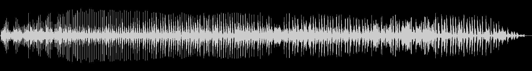 ブーン(低音の長めの効果音)の未再生の波形