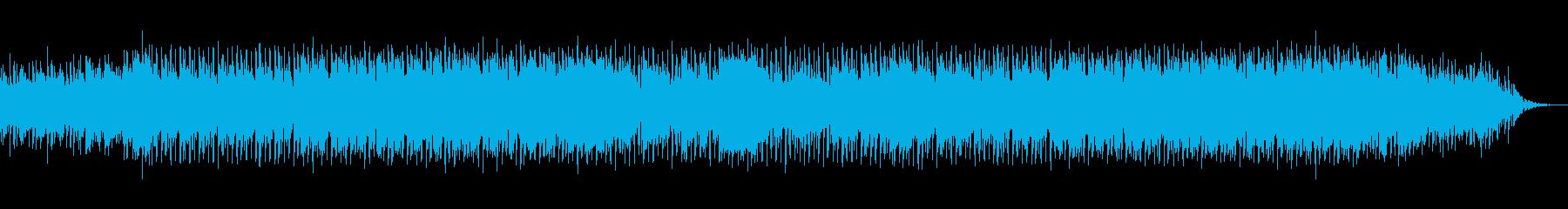 かっこいいスピード感のポップの再生済みの波形