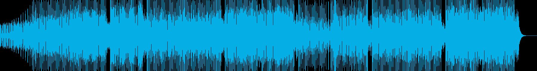 科学・浮遊感漂うテクノ 裏拍リズム Aの再生済みの波形