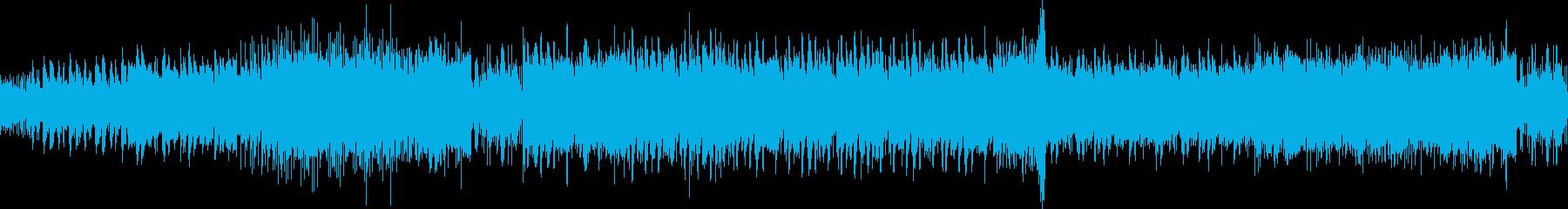 ドッシリ感とハイテンション同居のプログレの再生済みの波形