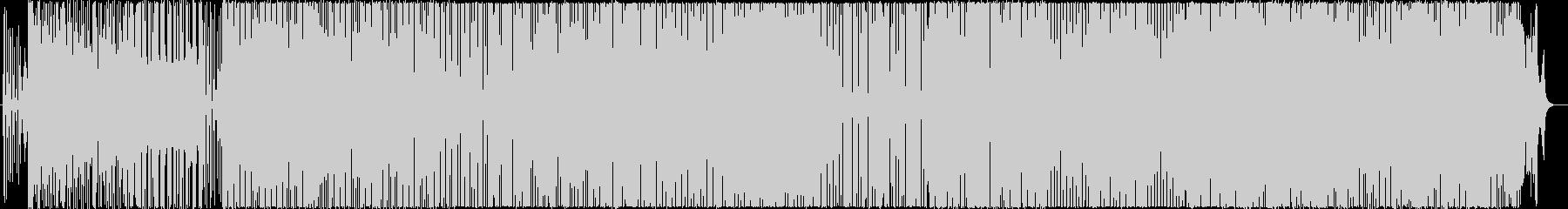 エモーショナルなエレクトロニカの未再生の波形