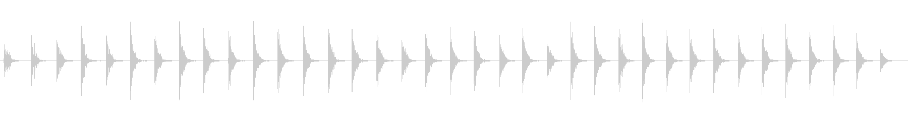 ウッドフロア:アーミーブーツ:ウォ...の未再生の波形