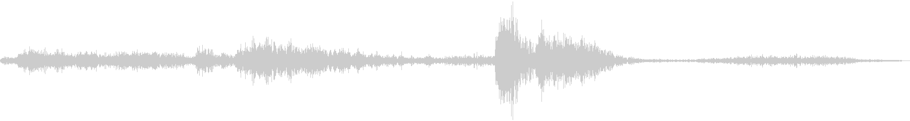 FX_48 Data Transの未再生の波形