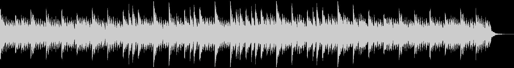 感動的でシンプルなピアノソロの未再生の波形