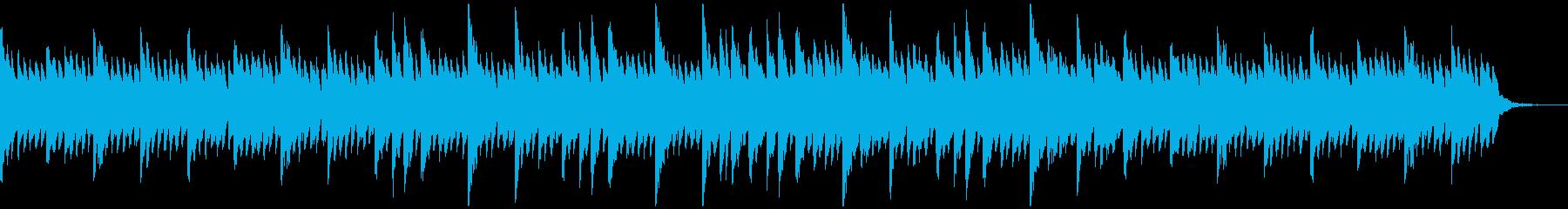 感動的でシンプルなピアノソロの再生済みの波形