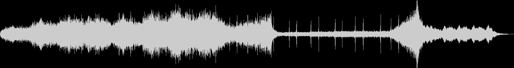 ストリングスの怖い雰囲気のBGMの未再生の波形