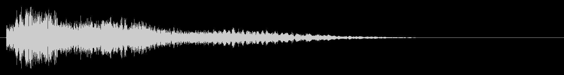 サスペンスピアノ音_19-2の未再生の波形