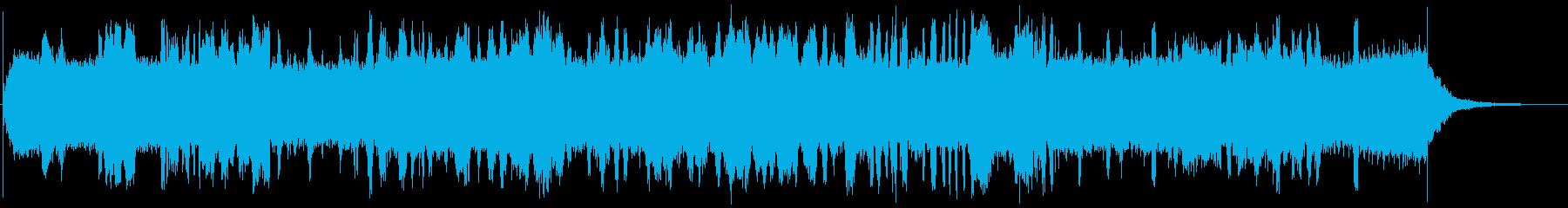 小型電動リーフブロワー:スタート、...の再生済みの波形