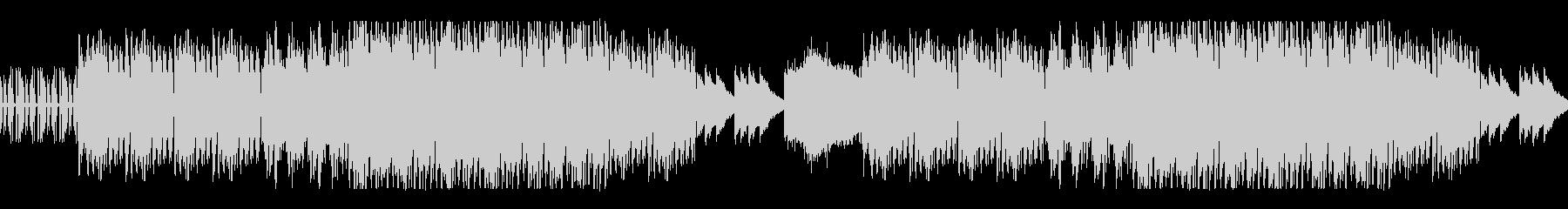 リズムのあるEDM風ループ曲の未再生の波形