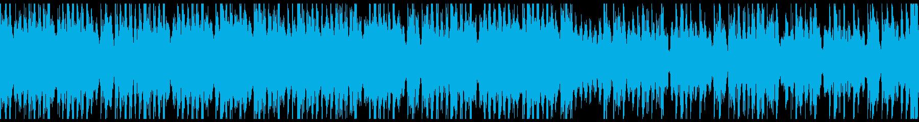 ファンキーでアップビートなドラムン...の再生済みの波形