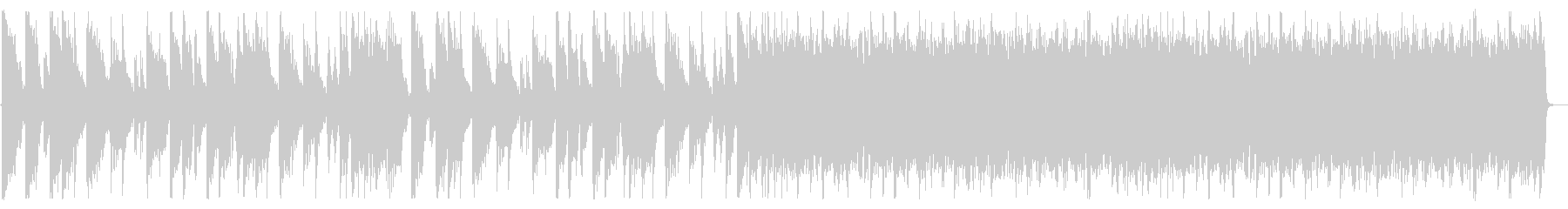 重厚/シンプル/ロック_No600_2の未再生の波形