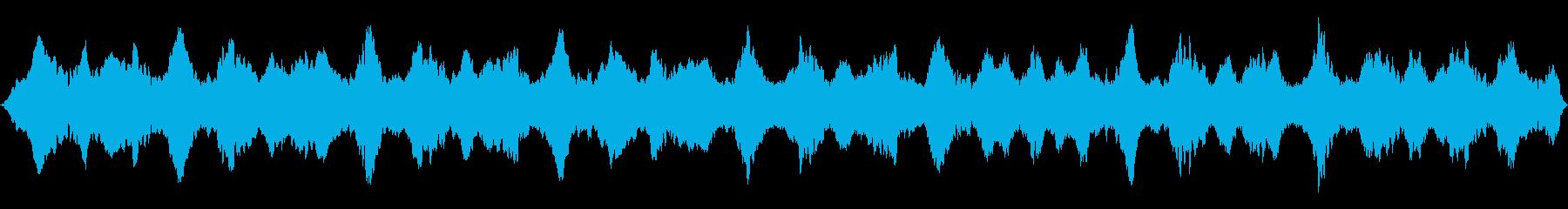 隠されたパワードローンの再生済みの波形