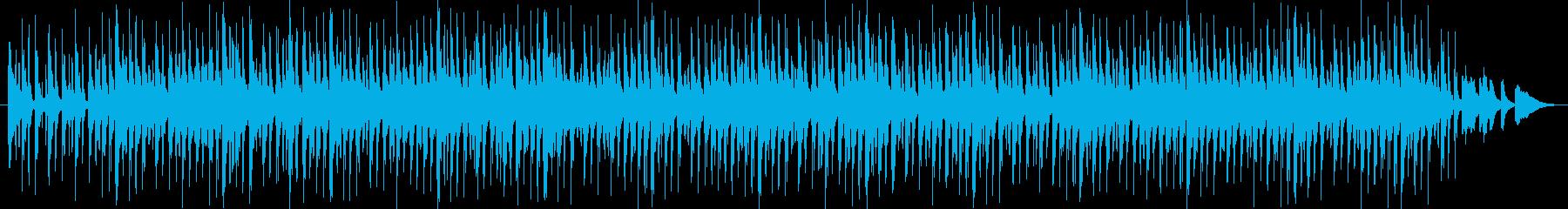 子ども向けのかわいいイメージの曲を目指…の再生済みの波形