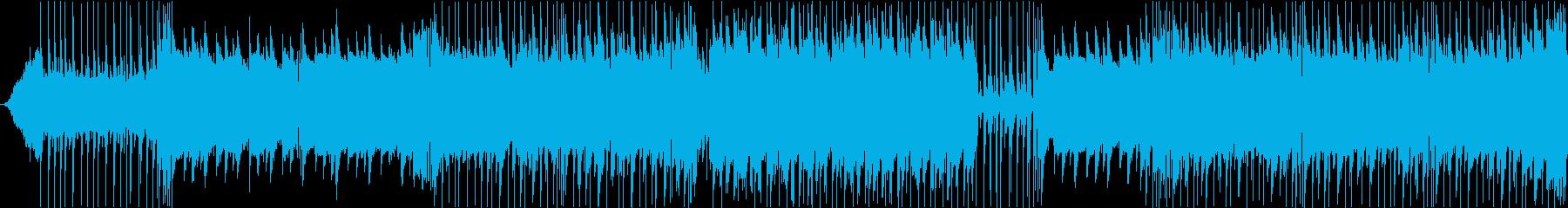 バトル形式イベントOP風テクノファンクの再生済みの波形