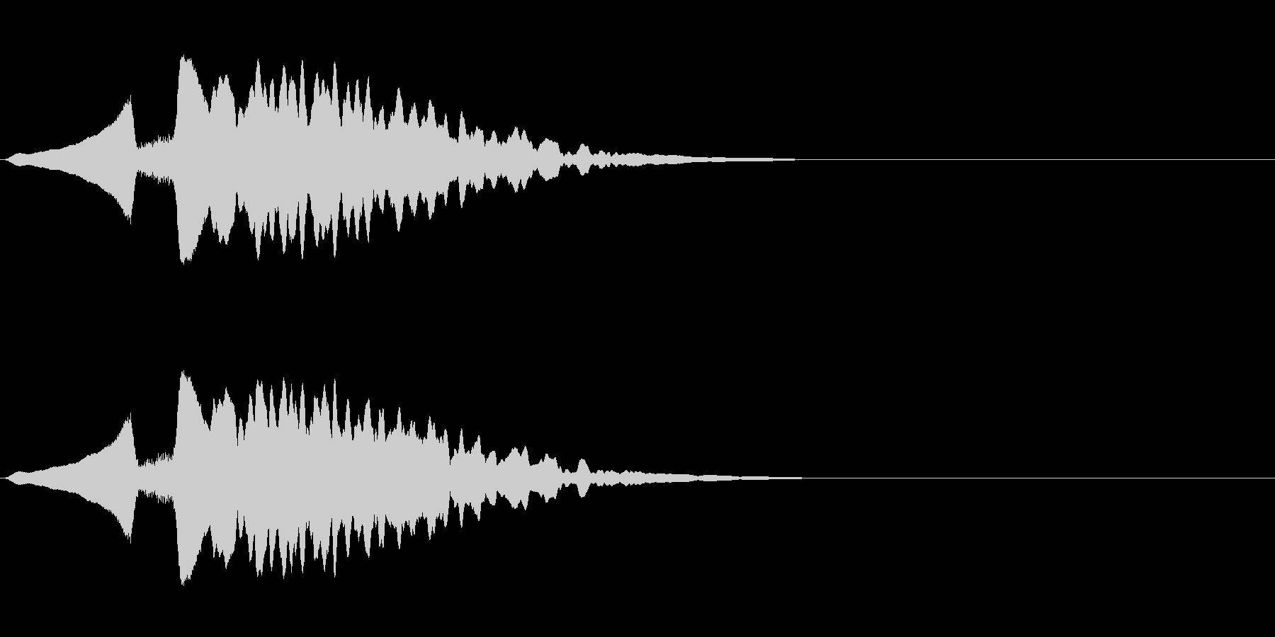尺八 生演奏 古典風 残響音有 #8の未再生の波形