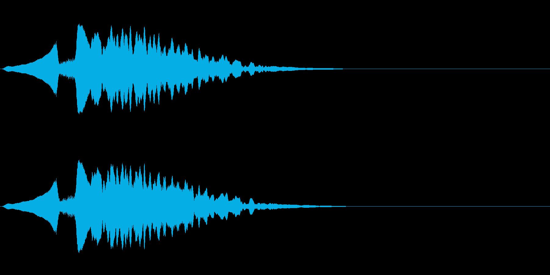 尺八 生演奏 古典風 残響音有 #8の再生済みの波形