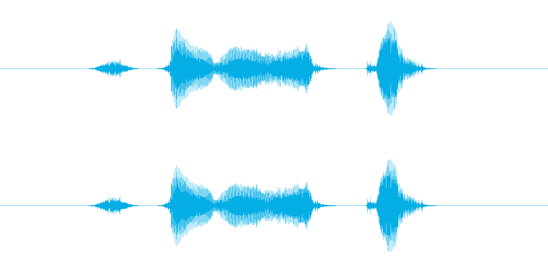 ストライク!の再生済みの波形