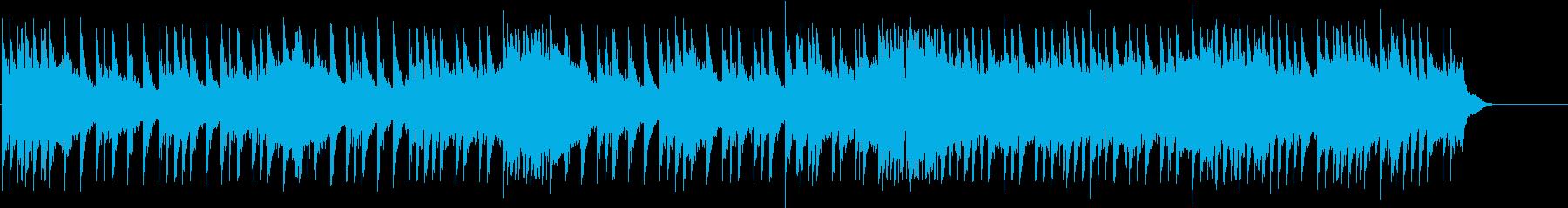30秒の短いハードロック系ドラムソロの再生済みの波形