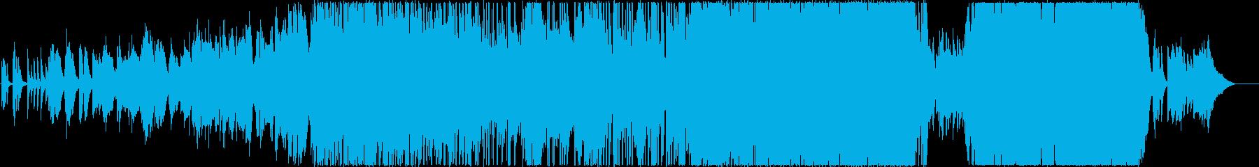 切ない系映像作品にピッタリなバラードの再生済みの波形