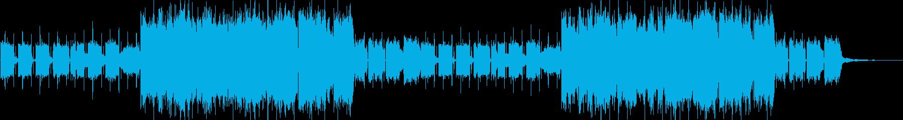 ローファイ、おしゃれなラウンジ系の再生済みの波形