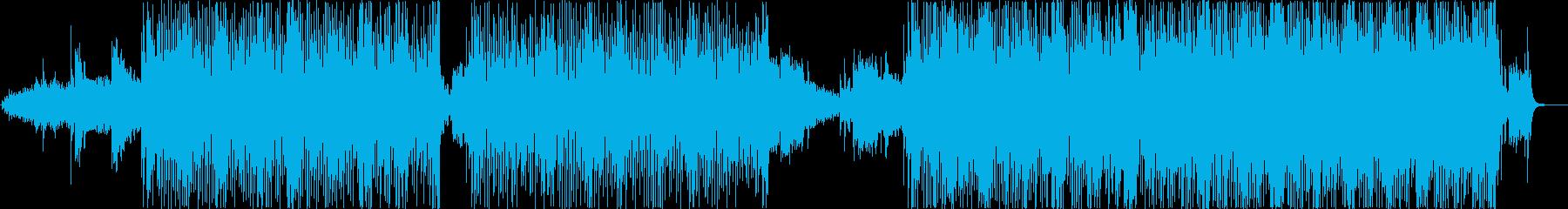 優しい気分になるPOPなテクノの再生済みの波形