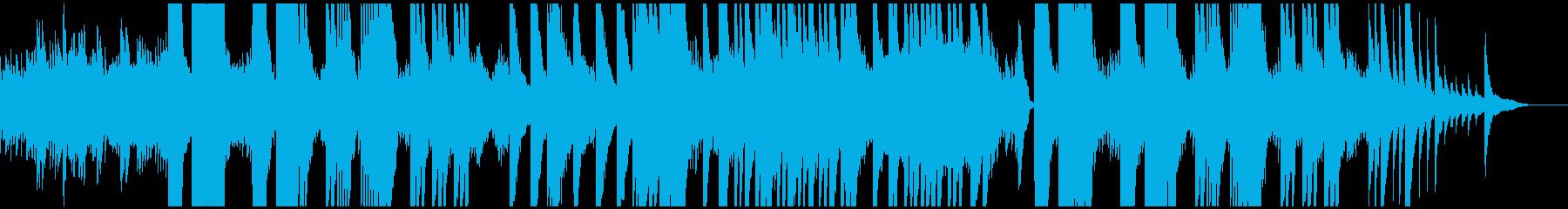 ピアノとストリングスの壮大な癒し系の再生済みの波形
