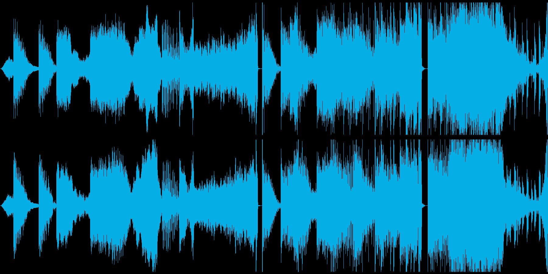 実験的な テクノロジー 暗い ホラ...の再生済みの波形