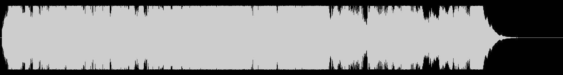 感動/のびやか/オーケストラ/ワルツの未再生の波形