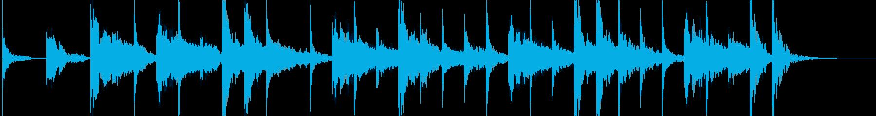 ラテンなジングル ♩=120の再生済みの波形