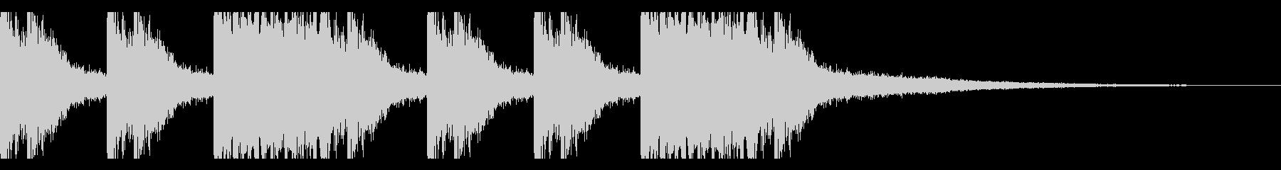 太鼓2 スネアロール ジングル 繰り返しの未再生の波形