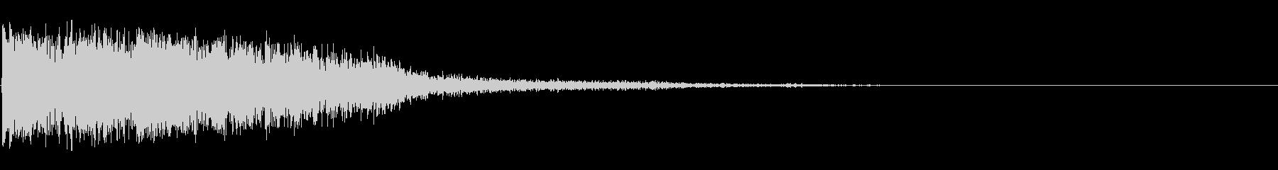 スミス&ウェッソンモデル586、0...の未再生の波形